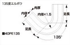 SAMCO サムコ 燃料エルボウホース FB250 57 40PE13557