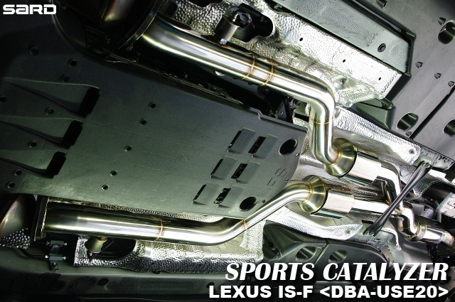 サード スポーツキャタライザー レクサス IS F DBA-USE20 07.12~ 【配送先制限あり】 89328