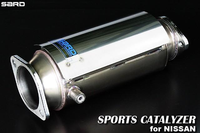 サード スポーツキャタライザー 日産 スカイラインGT-R E-BCNR33 95.01~99.01 RB26DETT [キャタライザー・触媒] 89001