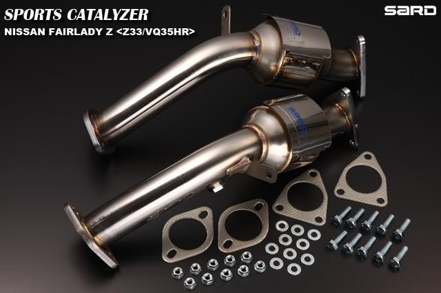 サード スポーツキャタライザー 日産 フェアレディZ CBA-Z33 07.01~08.12 VQ35HR [キャタライザー・触媒] 89015