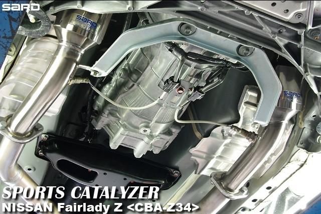 サード スポーツキャタライザー 日産 フェアレディZ CBA-Z34 08.12~ VQ37VHR [キャタライザー・触媒] 89202