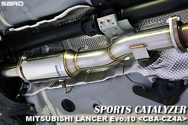 サード スポーツキャタライザー 三菱 ランエボX(10) CBA-CZ4A 07.10~10.09 4B11 [キャタライザー・触媒] 89055