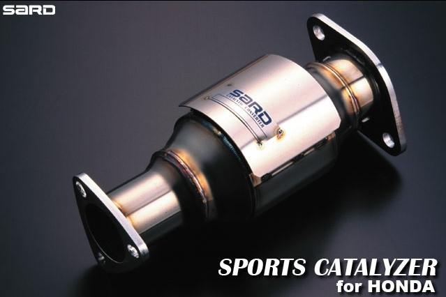 サード スポーツキャタライザー ホンダ インテグラタイプR E-DC2 95.10~99.07 B18C [キャタライザー・触媒] 89062