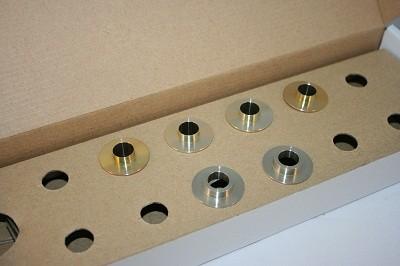 スプーン リジッドカラー(リジカラ) アウディ A6 C6 4FC フロント用 品番: 50261-8EB-000