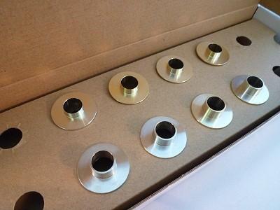 スプーン リジッドカラー(リジカラ) アウディ TT 8N/Quattro リア用 品番: 50300-GO4-000