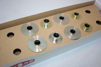 スプーン リジッドカラー(リジカラ) ダイハツ タント L375S フロント用 品番: 50261-COP-000