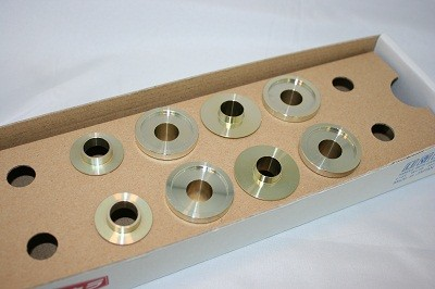 スプーン リジッドカラー(リジカラ) ホンダ フィット GD1/GD3 フロント用 品番: 50261-GD3-000