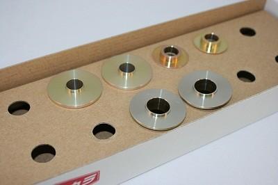 スプーン リジッドカラー(リジカラ) マツダ アクセラ BL/BK フロント用 品番: 50261-BL3-000