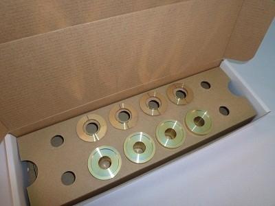 スプーン リジッドカラー(リジカラ) 日産 インフィニティQ45 FX50S フロント用 品番: 50261-V36-000