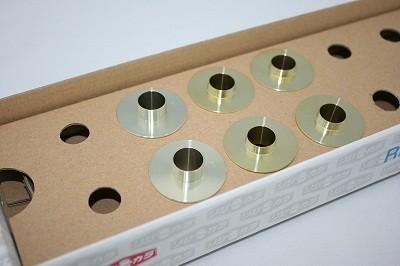 スプーン リジッドカラー(リジカラ) ホンダ アコードワゴン CL2 フロント用 品番: 50261-RA8-000