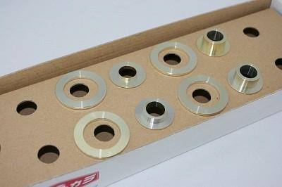 スプーン リジッドカラー(リジカラ) レクサス LS460 USF40 リア用 品番: 50300-US4-000