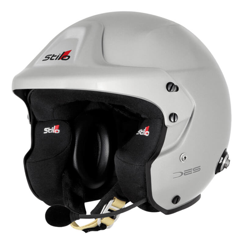 Stilo(スティーロ) TROPHY DES PLUS FIA8859-2015 (ヘルメット) 【サイズ:XL (61)/カラー:シルバー】 品番:AA0110EG2M61