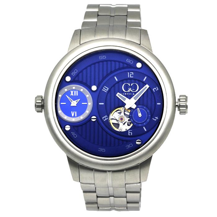 カーティス CURTIS&Co. ザ ビッグタイムパスポート52mm 替えベゼル付 メンズ 時計 ウォッチ SSBL52 BLUE ブルー文字盤 国内正規品 当日発送対象外