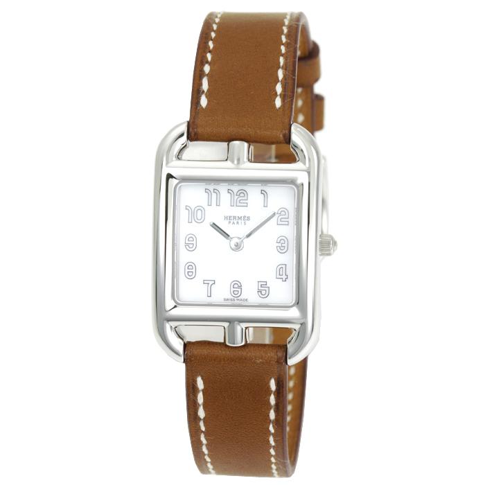 エルメス HERMES ケープコッド Cape Cod レディース 時計 ウォッチ W045720WW00 ホワイト文字盤