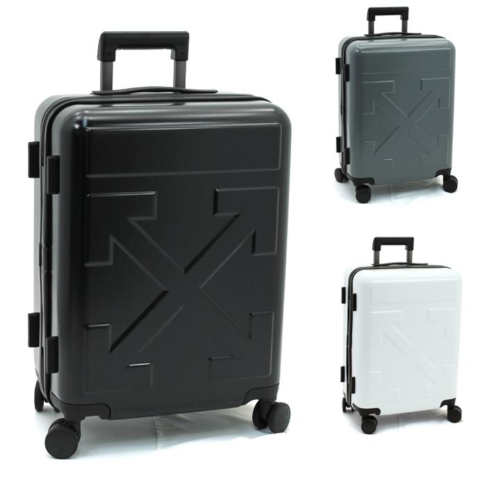 オフホワイト Off-White アロートロリー ARROW TROLLEY キャリーケース スーツケース(TSAロック) OMNG005R20F61023