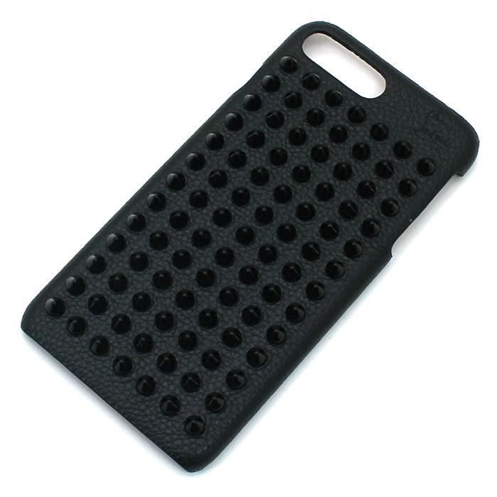 クリスチャンルブタン Christian Louboutin ルビフォンケース Loubiphone Case アイフォーン7プラス&8プラスケース iPhone7 Plus&8 Plus Case 1185125 CM53 ブラック