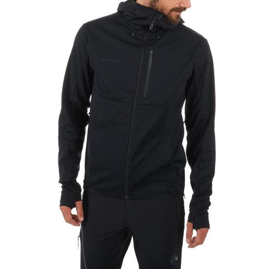 マムート MAMMUT アルティメットVソフトシェルフーデッドジャケット Ultimate V SO Hooded Jacket 1011 00061 メンズ 国内正規品