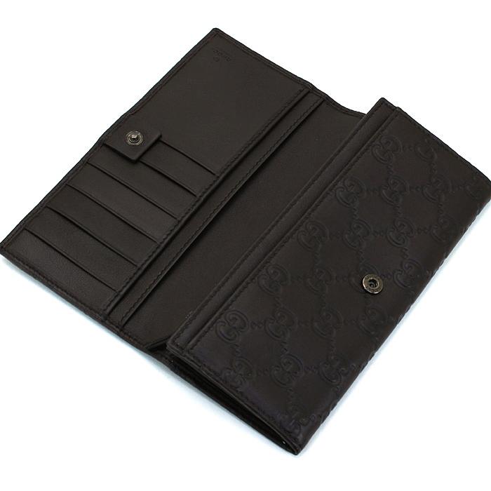 訳あり ストック品 グッチ GUCCI 長財布ファスナー 233112 AA61R チョコレート