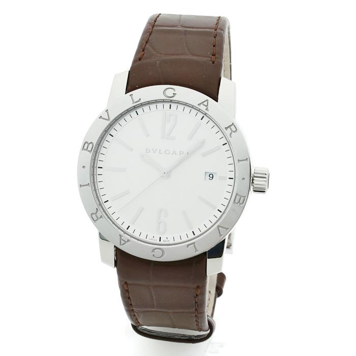 素晴らしい外見 ブルガリ BVLGARI ブルガリブルガリ メンズ 時計 ウォッチ BB39WSLD ホワイト文字盤, ハンカチの店 夢遊布 eba7d757