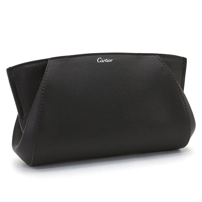 カルティエ Cartier Cドゥカルティエ C DE CARTIER クラッチバッグ L3001478 オニキス カルチェ