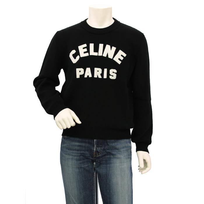 セリーヌ CELINE フロック クルーネックセーター 2A10D816I メンズ
