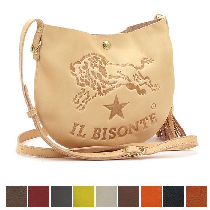 【衝撃特価セール】 イルビゾンテ IL BISONTE ポシェット A2665 P 【あす楽対応】