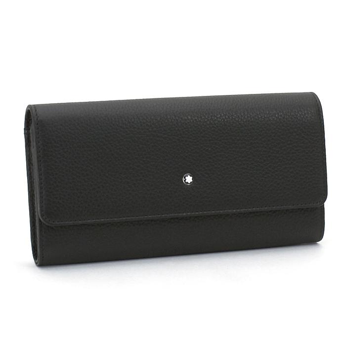 モンブラン MONTBLANC 長財布ファスナー 114469 ブラック