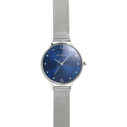 スカーゲン SKAGEN SKW2307 アニタ レディース ブルー シルバーメッシュ 時計 ウォッチ