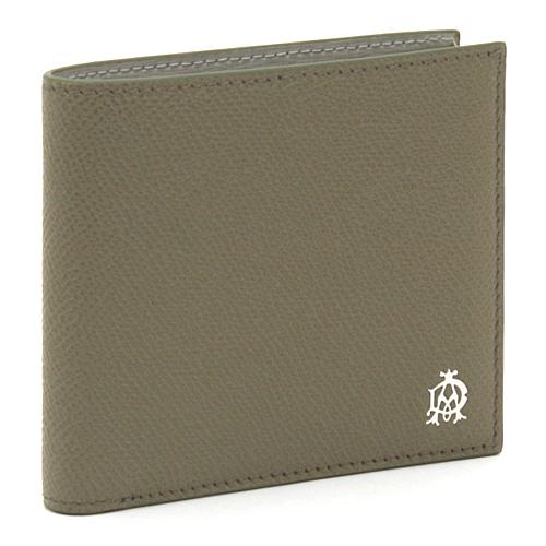 【訳あり(上部内側に黄ばみあり)】 ダンヒル dunhill BOURDON ボードン 二つ折り財布 L2X232Z