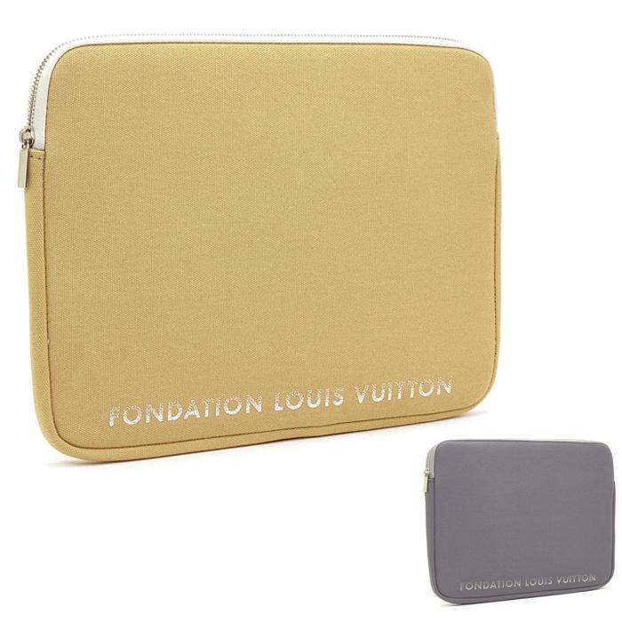 ルイヴィトン LOUIS VUITTON フォンダシオンルイヴィトン Fondation Louis Vuitton パソコンケース LAP TOP SLEEVE 13インチ 【あす楽対応】