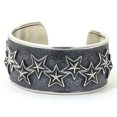 コディサンダーソン CODY SANDERSON インディアンジュエリー バングル 10 out of 10 stars cuff bracelet Mサイズ シルバー925