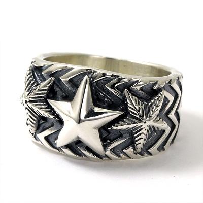 コディ サンダーソン CODY SANDERSON インディアンジュエリー リング Wave gear 3 star ring シルバー925