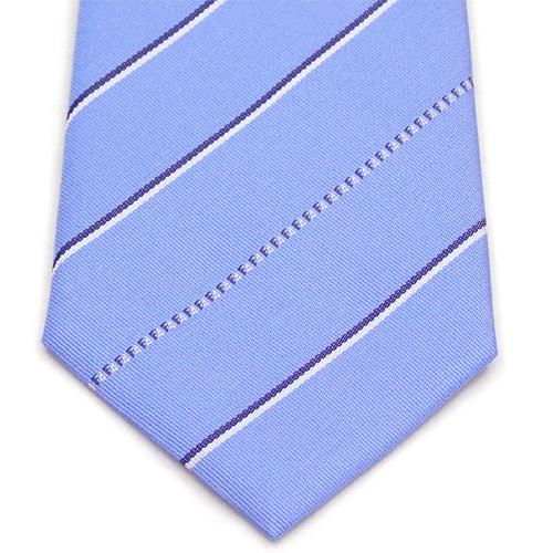 フェンディ FENDI ジャガード ネクタイ AP00375:ブルー系7510UE460.340