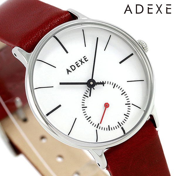 アデクス ADEXE ユニセックス スモールセコンド 33mm 1870B-07 腕時計 プチ 時計