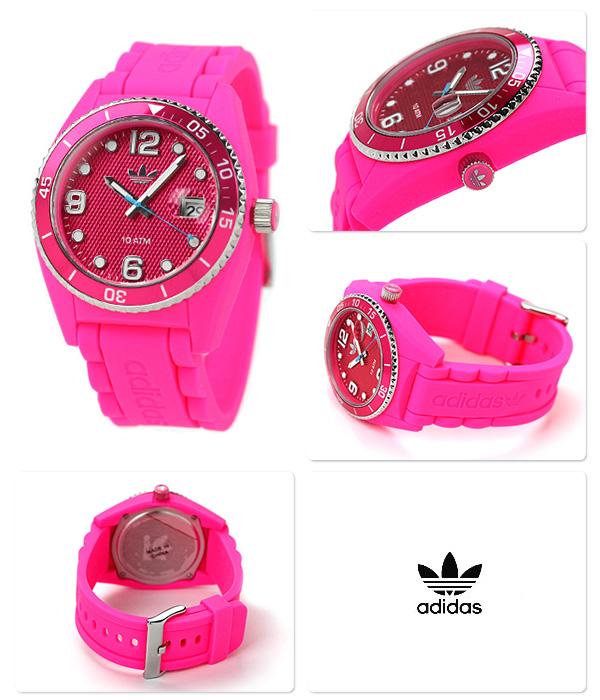 阿迪达斯布里斯班吊带ADH6154 adidas手表日期粉红