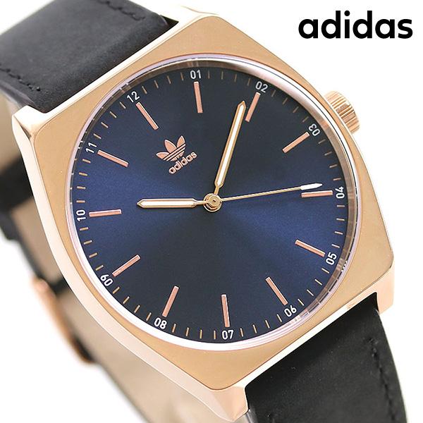 アディダス オリジナルス 時計 メンズ レディース 腕時計 Z052967-00 adidas プロセス_L1 ネイビー×ブラック【あす楽対応】