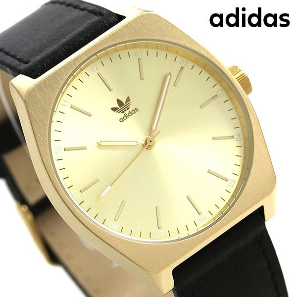 アディダス オリジナルス 時計 メンズ レディース 腕時計 Z05510-00 adidas プロセス_L1 ゴールド×ブラック【あす楽対応】