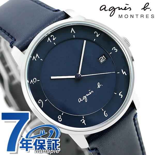 アニエスベー 時計 マルチェロ 日本製 メンズ FBRK999 agnes b. ネイビー アニエス・ベー 腕時計
