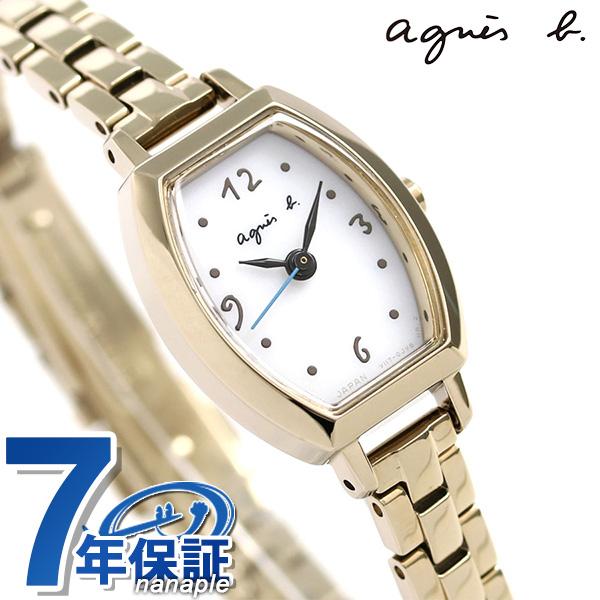 アニエスベー 時計 レディース ソーラー FBSD947 agnes b. マルチェロ シルバー×ゴールド 腕時計【あす楽対応】
