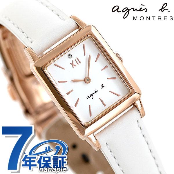 アニエスベー 時計 レディース 35周年 限定モデル FCSK712 agnes b. マルチェロ レクタングル ミニ 腕時計【あす楽対応】