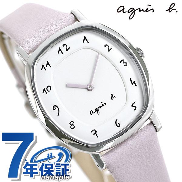 アニエスベー 時計 レディース 腕時計 agnes b. マルチェロ FCSK929 ホワイト×ラベンダー