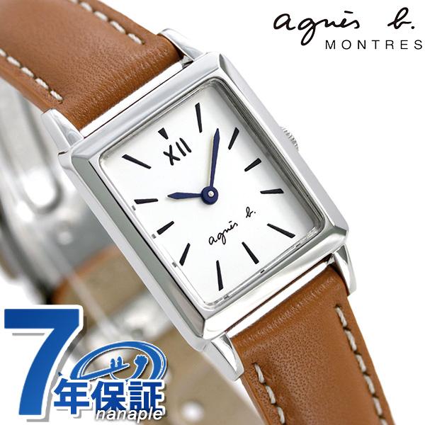 アニエスベー 時計 レディース FCSK938 agnes b. マルチェロ レクタングル ミニ ホワイト 腕時計【あす楽対応】