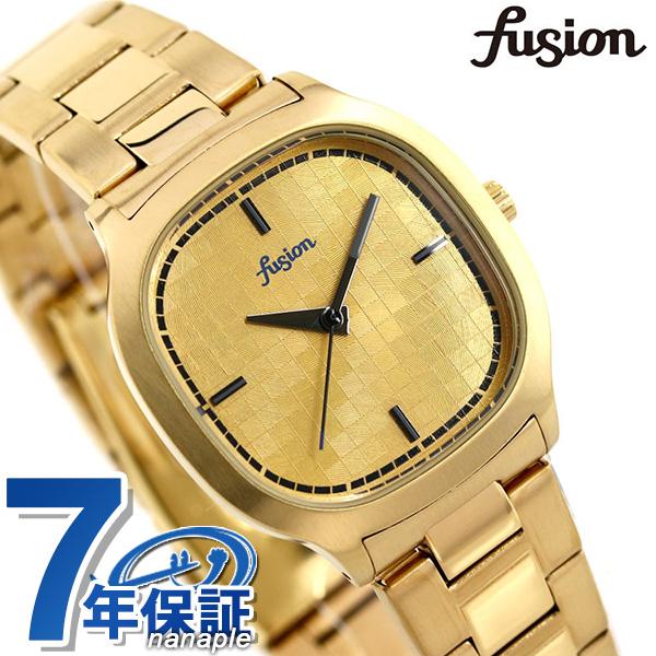 セイコー アルバ フュージョン 80's ディスコ スクエア メンズ レディース 腕時計 AFSK407 SEIKO ALBA fusion ゴールド【あす楽対応】