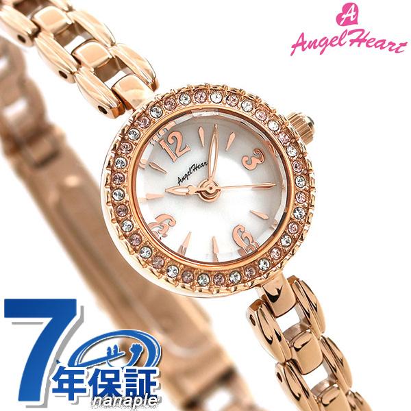 エンジェルハート 時計 エターナルクリスタル レディース 腕時計 ET21PMA AngelHeart ホワイトシェル×ピンクゴールド【あす楽対応】