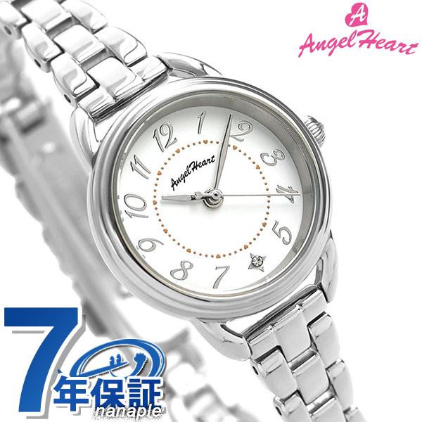 エンジェルハート 時計 ファーストスター 26mm ソーラー レディース 腕時計 FS25SS AngelHeart ホワイト