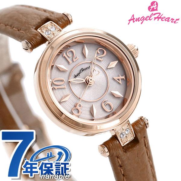 エンジェルハート ハッピープリズム 22mm ソーラー レディース HP22P-BW AngelHeart 腕時計 革ベルト 時計