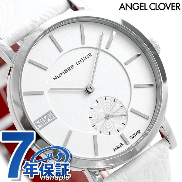 エンジェルクローバー NUMBER (N)INE スモールセコンド シルバー NNS40SSV-WH ANGEL CLOVER メンズ 腕時計 時計
