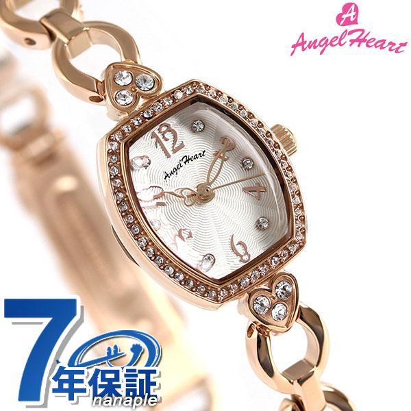 エンジェルハート スターライト レディース 腕時計 SL18PS Angel Heart ホワイト×ピンクゴールド 時計