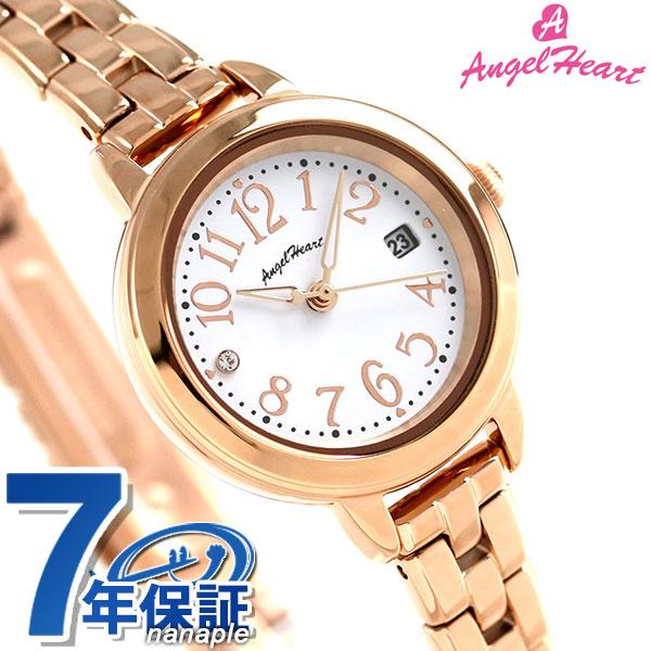 エンジェルハート トゥインクルタイム ソーラー レディース 腕時計 TT26PG AngelHeart ピンクゴールド 時計