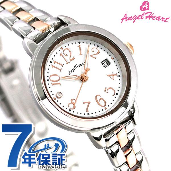 エンジェルハート トゥインクルタイム ソーラー レディース 腕時計 TT26RSW AngelHeart ローズゴールド 時計【あす楽対応】